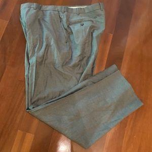Ermenegildo Zegna 100% Wool Grey Dress Pants